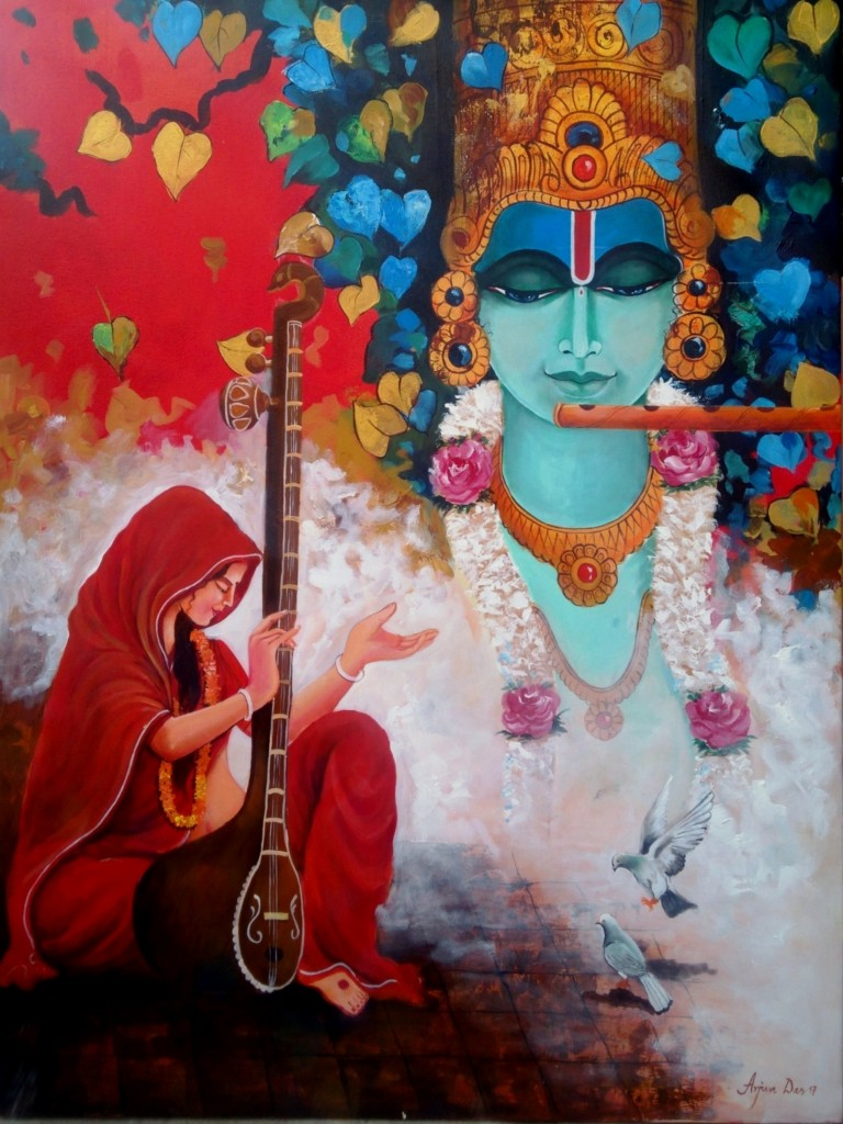 lord krishna paintings
