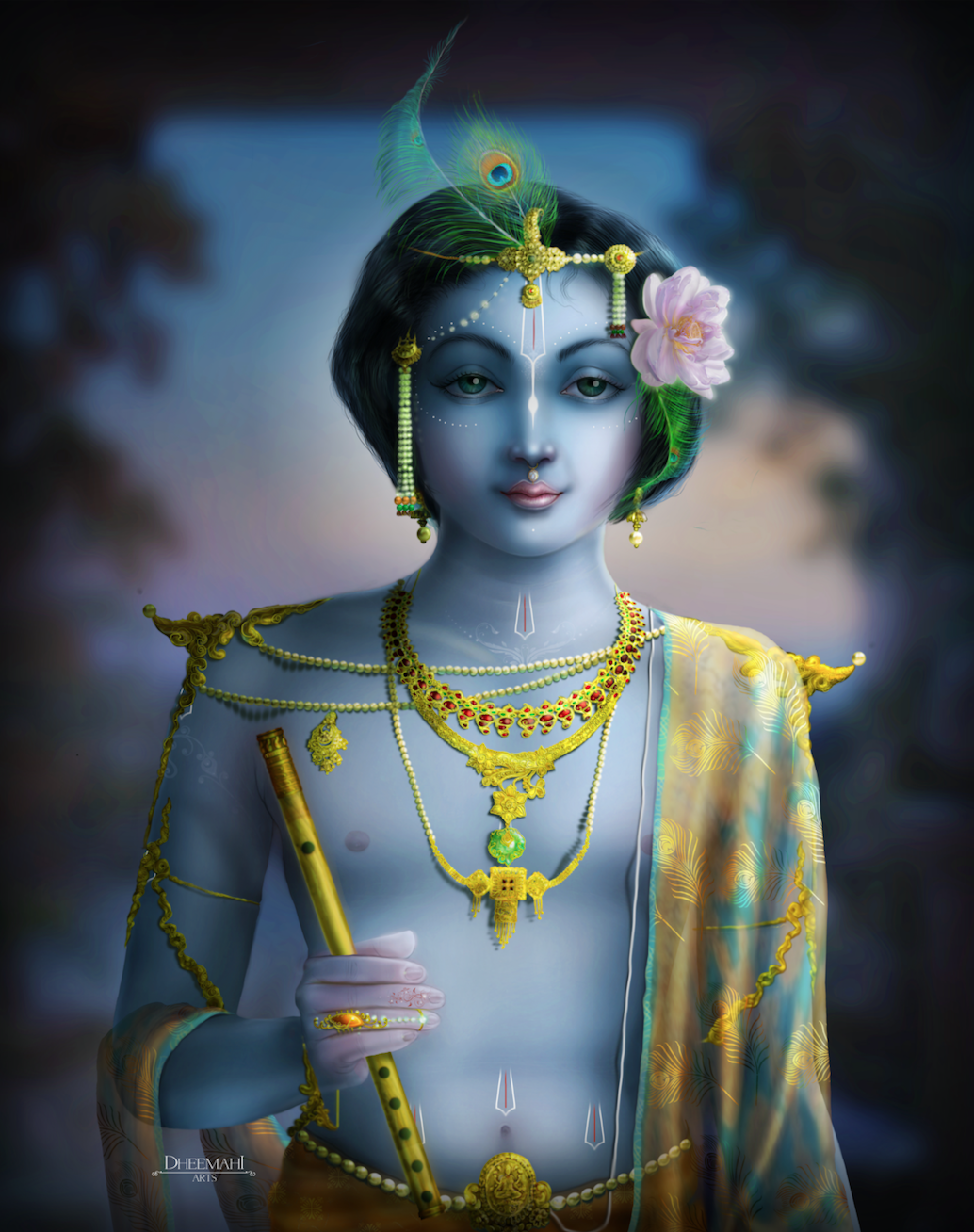 lord krishna paintings1